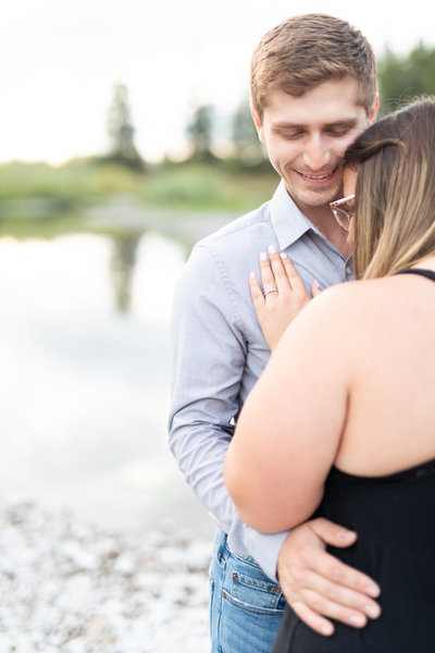 Kolbey and Jessica | Council Grove State Park