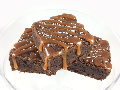 Whippt Desserts - Choc salted brownies