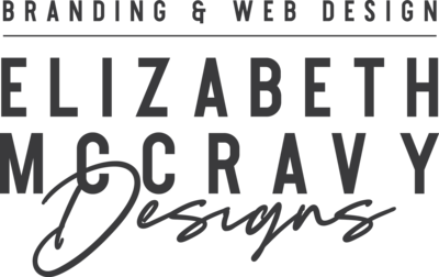 Logo-Elizabeth McCravy Designs-Off Black