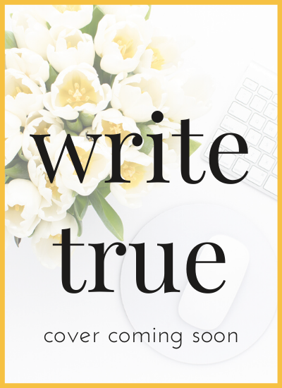 probst - cover coming soon - write true