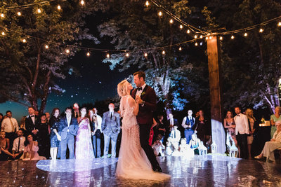 JB Wedding - FIRST DANCE - NATUREs GLITTER - sarah-falugo-julianne-hough-brooks-laich-wedding-4260