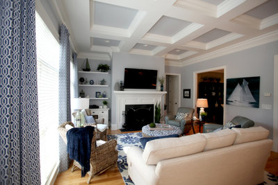 Mooresville Great Room Interior Design
