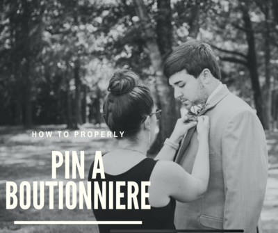 Pin a Boutionniere