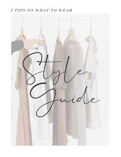Style Guide - What to Wear for Your Branding Session