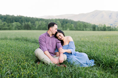 Nashville Engagement Session Morgan Franklin Creative