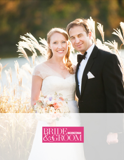 Kelley Cannon Events Washingtonian Bride and Groom