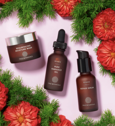 true botanicals skincare fresh dewy winter skin set