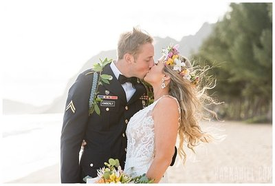 Oahu Beach Wedding Package 1