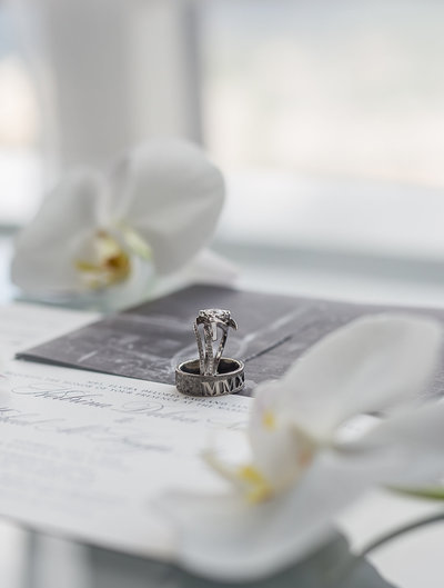 The tiniest details on your wedding can make such a grand statement. Captured by Lynda Louis Photography