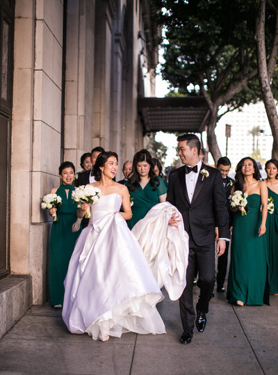 Biltmore Hotel Los Angeles Wedding. Photographer Samuel Lippke Studios052