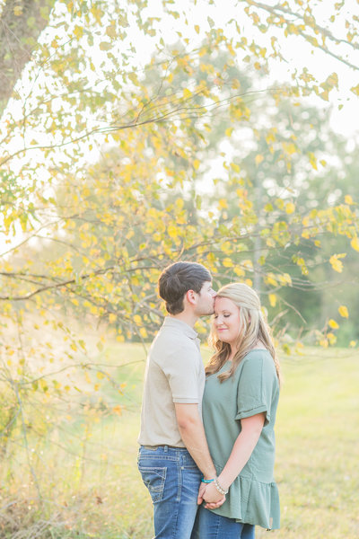 A Mississippi Fall Engagement Session | The Town Of Livingston