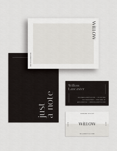 Stylish Stationery Template Design