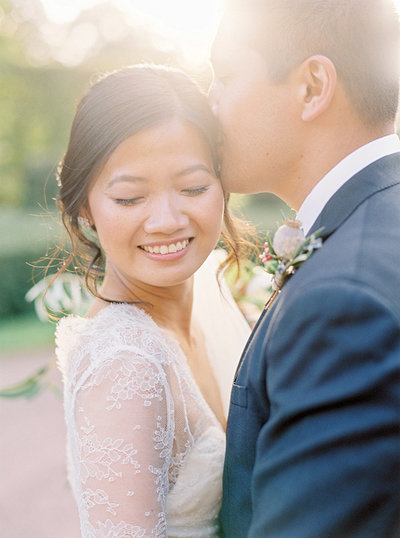 French Chateau wedding in Normany wrapped in golden light