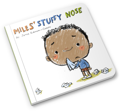 Miles Stuffy Nose Board book