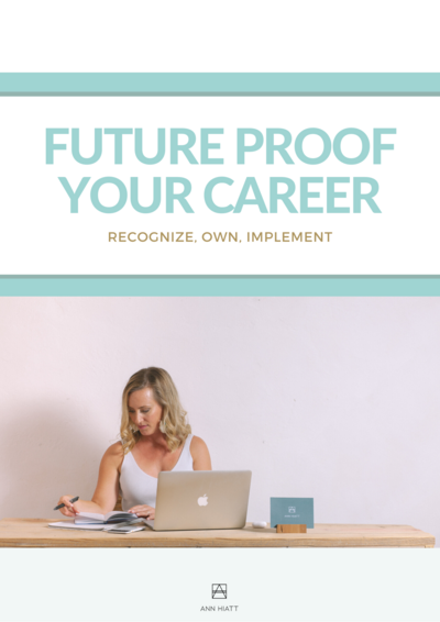 FUTURE PROOF YOUR CAREER WORKSHEET