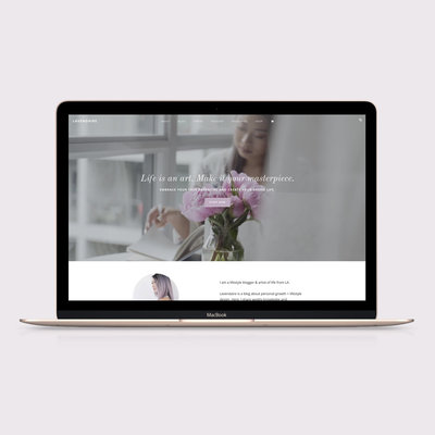 Handcrafting Heartfelt Brand & Website Designs for Female Creatives |  Showit | Showit Templates | by Viva la Violet | Lavendaire