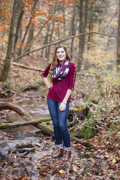 Southwest Virginia Fall Senior Session