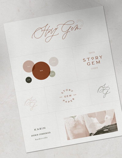 Sophisticated and Creative Stationery Template Design