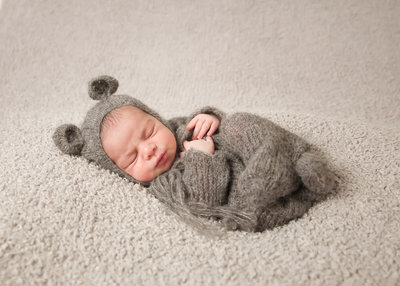 baby bear portrait infant