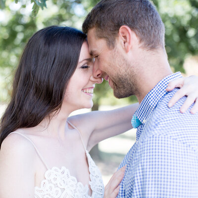Melbourne photographer for  engaged couples by Anna Selent Photography.