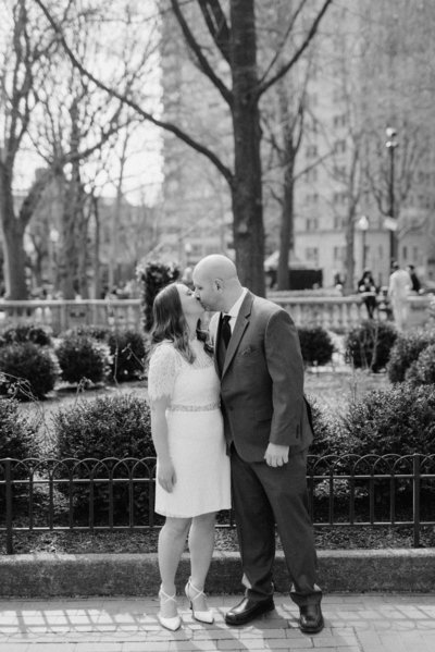 Gabe McMullen Photography Elopement Portrait Philadelphia PA