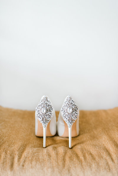 Badgley Mischka wedding shoes heels