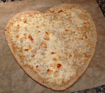Gluten Free Heart Shaped Pizza_Sue Ward