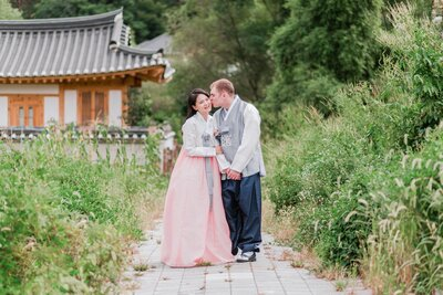 Seoul-South-Korea-Bridal-Engagement-Shoot-Eunpyeong-Village-Hanok-0003