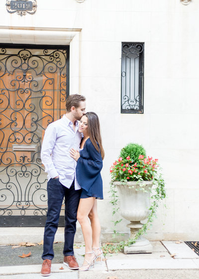 Alessandra and Joey Philadelphia Engagement Session