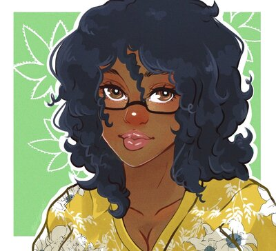 art version of sabrina guyton
