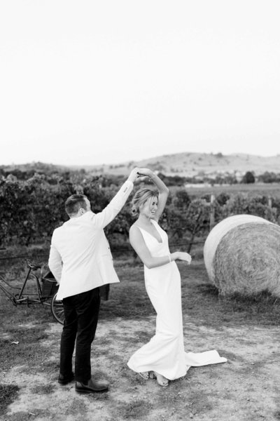 rustic winery wedding at Acacia ridge