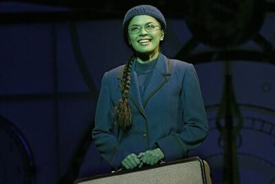 Patrice Tipoki as Elphaba in Wicked