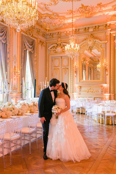 shangri la paris wedding portrait