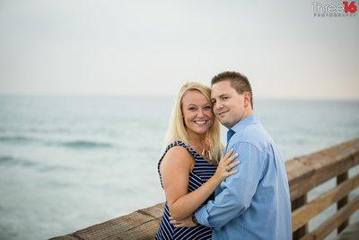 Newport Beach Pier Engagement Photos Orange County Newport