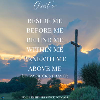 Christ is beside me before me behind me