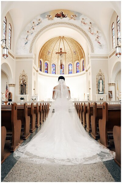 Wedding Planner for Dusty Blue Inspired Wedding Ceremony at Saint Mary's Catholic Church Brenham- J Richter Events_0009