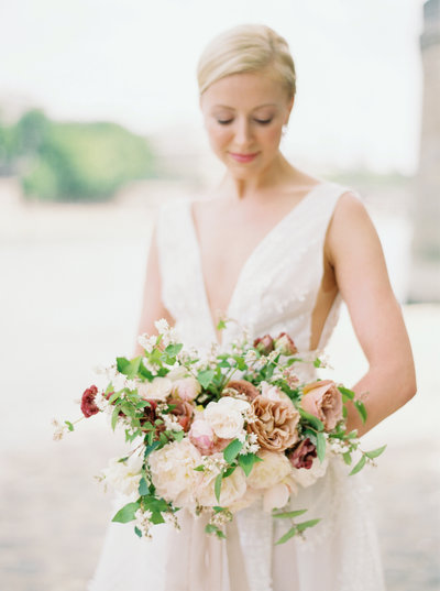 Wedding bouquet | Jennifer Fox Weddings