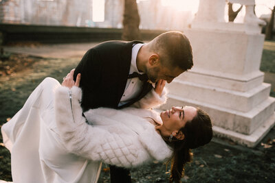 Modern Elopement in London - Sophia Veres Photography