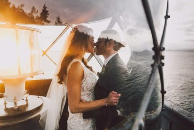 Best San Juan Islands wedding venues by San Juan Island wedding photographer Luma Weddings