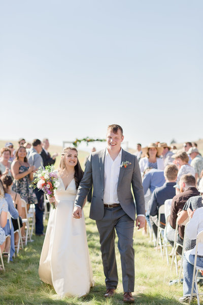 Beautiful Aviation Oregon Wedding Ceremony
