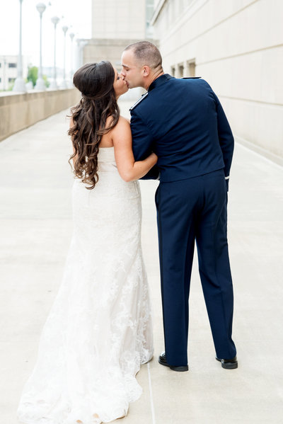 Downtown Kansas City  wedding