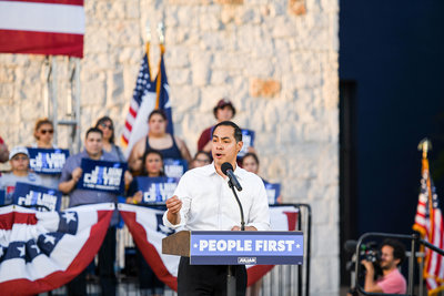 Julian Castro San Antonio rally