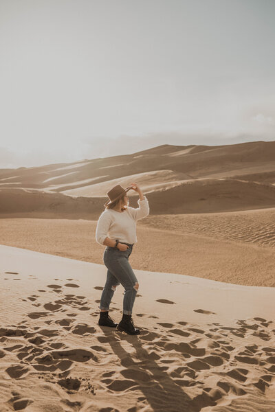 Portrait Photos at Sand Dunes National Park
