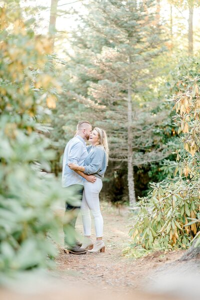 Light and Airy Engagement Session at the Fells estate-1