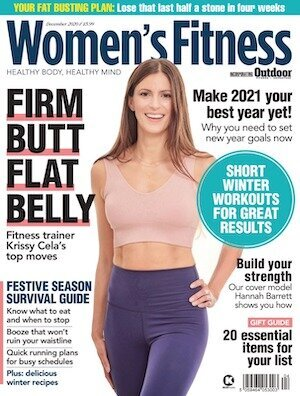 Women's Fitness cover Logo press coverage Puja McClymont