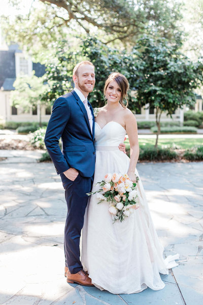 Lauren and Jacob's intimate Savannah wedding by Apt. B Photography