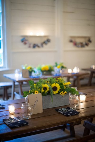 Rustic CT Wedding Rehearsal Dinner