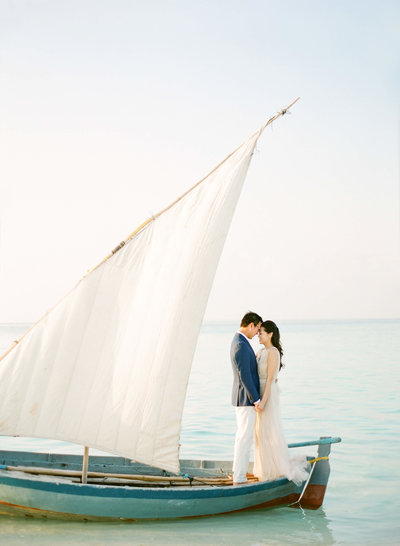 34-KTMerry-destinationwedding-Maldives-sailboat-portrait