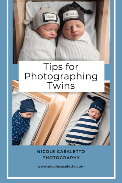 tips for photographing twins