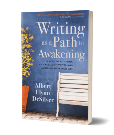 Writing as a path to awakening book image